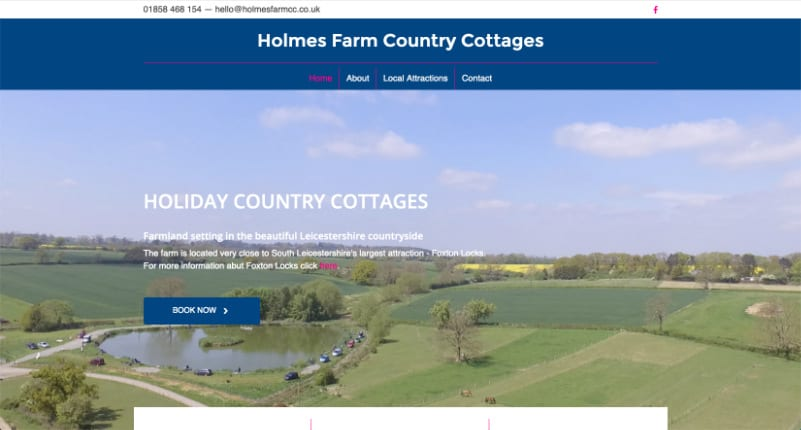 holmes farm country cottages