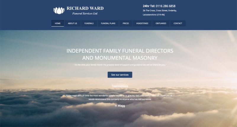 richard ward funeral directors